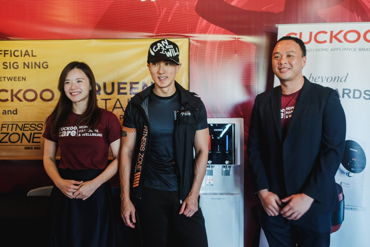 Cuckoo Brunei, Fitness Zone partner to provide quality water to gym-goers
