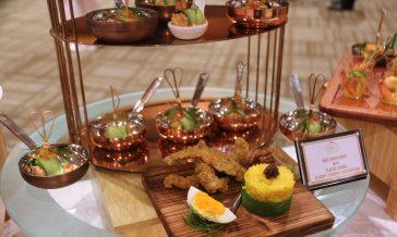 One of the dishes featured by Rizqun International Hotel, Nasi Lemak Kunyit. Photo: Rafidah Hamit/The Scoop
