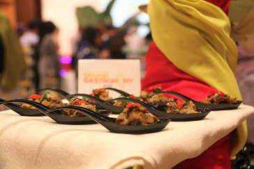 One of the dishes featured during the launching of Brunei Gastronomy week. Photo: Rafidah Hamit/The Scoop