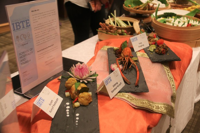 Some of the dishes featured during the launching of Brunei Gastronomy week. Photo: Rafidah Hamit/The Scoop