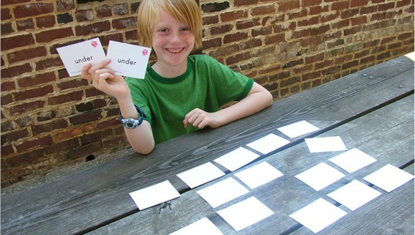 Sight Words Memory Game