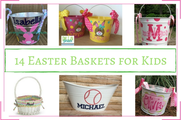 Pictures of Easter Baskets for Kids