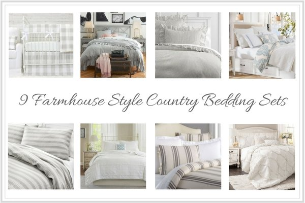9 Farmhouse Style Country Bedding Sets