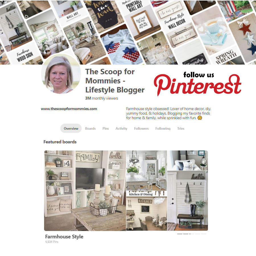 The Scoop for Mommies Pinterest Boards