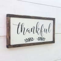 Thankful Sign-The Scoop for Mommies