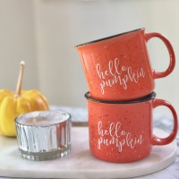 Hello Pumpkin Campfire Coffee Mug-The Scoop for Mommies
