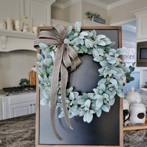 12 to 32 Lamb's Ear Grapevine Wreath