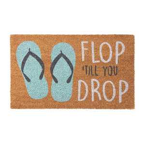 Flop Till You Drop Doormat