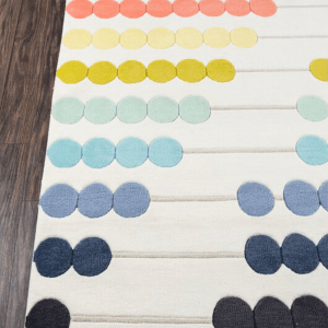 Kids Playroom Ideas and Decor-The Scoop for Mommies-Abacus Hand Tufted Rug