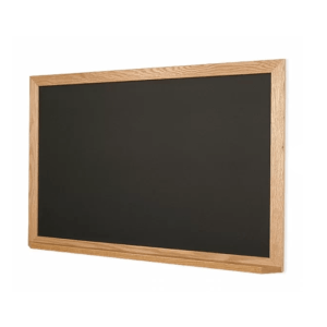 Kids Playroom Ideas and Decor-The Scoop for Mommies-Black Chalkboard with White Frame