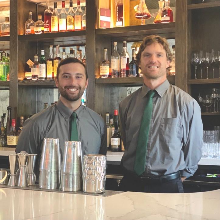Bartenders at Salt & Char Restaurant