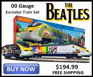 'Yellow Submarine' Eurostar Train Set