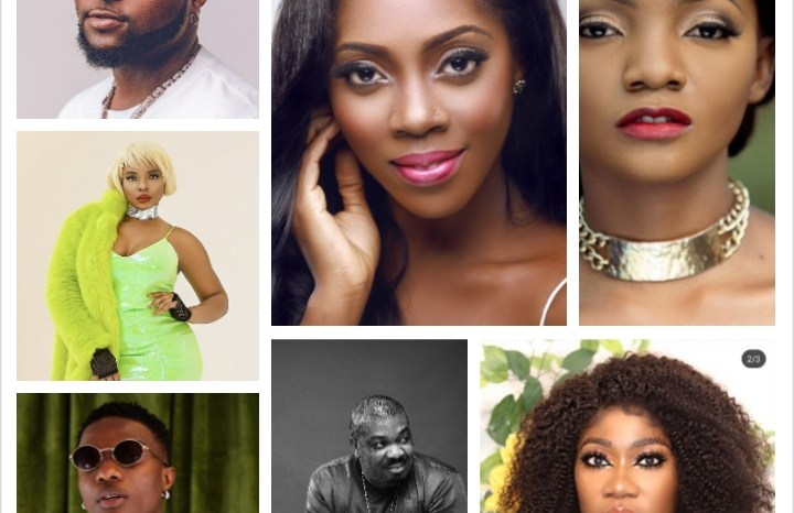 The most followed people in Nigeria