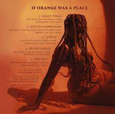 Tems if orange was a place track list