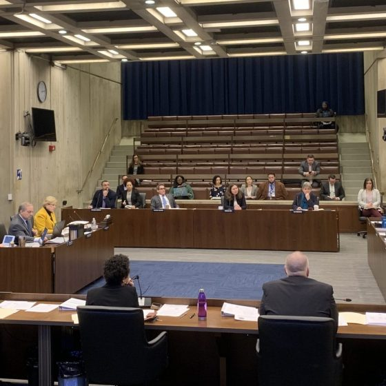 BuildBPS, school safety and the 2020 Census were all on the agenda at this week's Boston City Council meeting in City Hall. Photo by Jordan Erb.