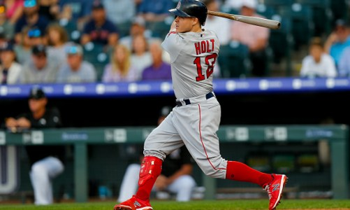 Brock Holt Heating Up At The Perfect Time
