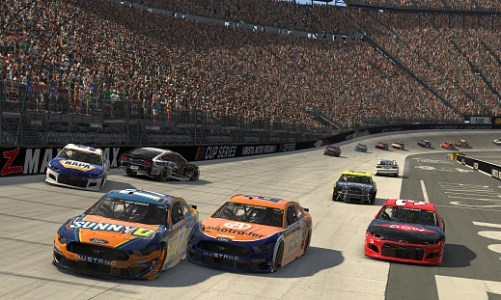 eNascar DFS Pro Invitational Richmond