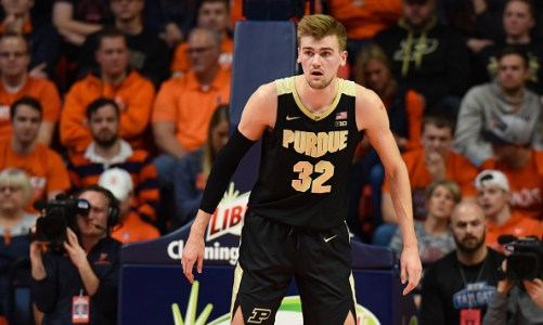 Purdue Center Matt Haarms Transferring; Another Big Man On The Move
