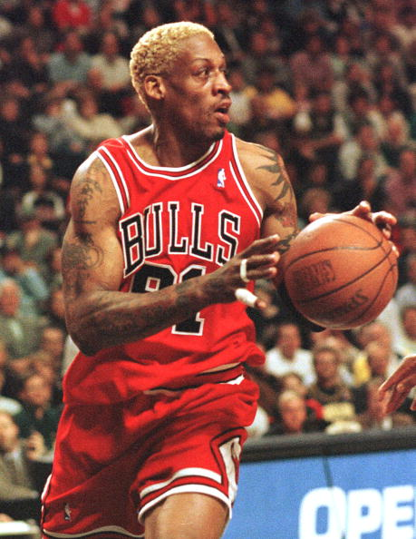 Yelling From The Bench Dennis Rodman