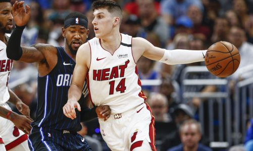 Tyler Herro studies Ray Allen and Klay Thompson to improve shooting