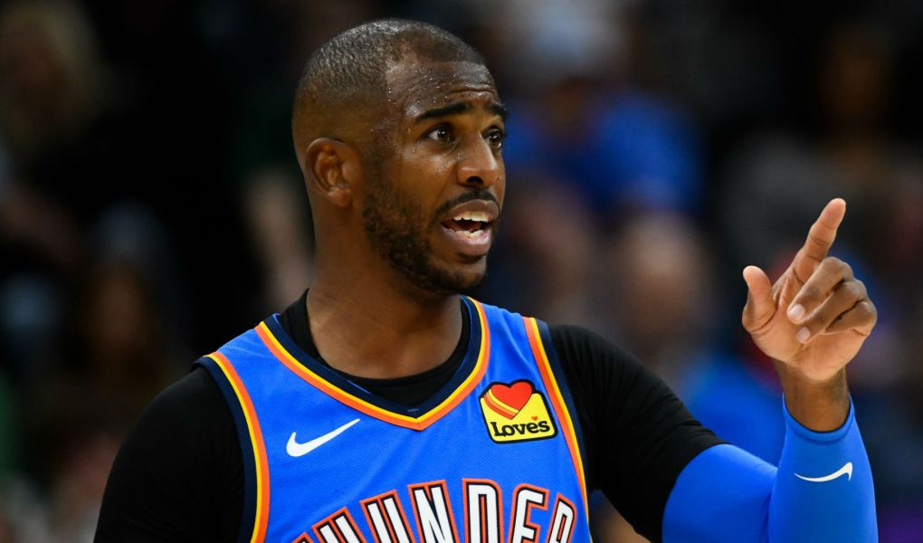 Thunder Overwhelm Jazz: Chris Paul