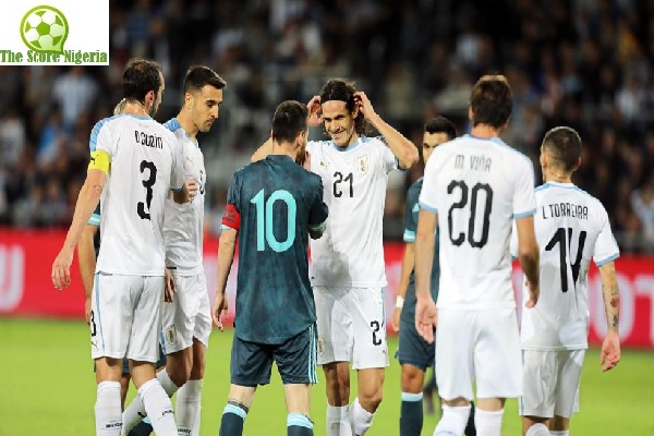 Messi is playing like Under 17 says Cavani - See Reactions
