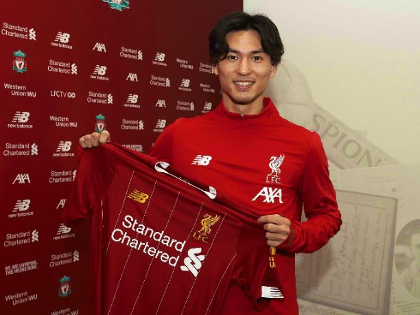 Liverpool Finally Sign RB Salzburg attacking Midfielder Takumi Minamino after Successful Medical Test