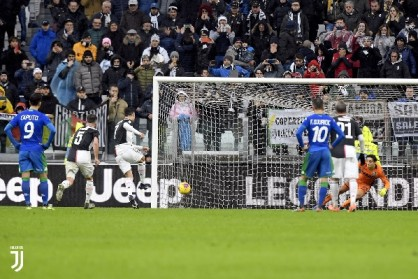 Italian Giants, Juventus hold to 2-2 draw by Sassuolo