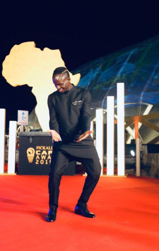#CAFAwards2019: Sadio Mane Dancing Shoki (Live Video)