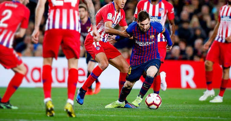 Atletico Madrid Defeat Barcelona 3-2 in the Spanish Super Cup Semi-final