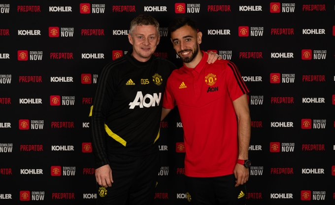 Ole Gunnar Solskjaer to includes Bruno Fernandes on Man United's line-up against Wolves