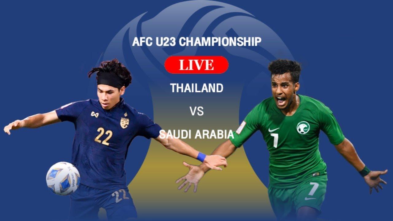 Watch Saudi Arabia U23 vs Thailand U23 Live Streaming