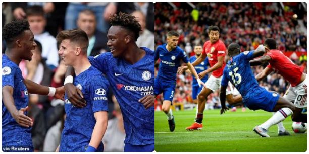 Chelsea vs Manchester United Line Up And Formation