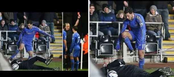 Eden Hazard Reveals Why He Kicked The Ball Boy In League Cup