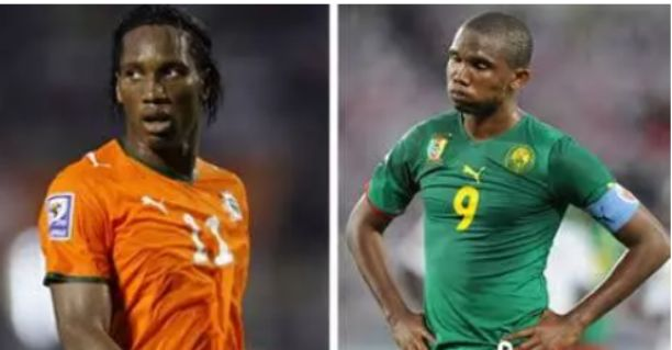 Ignorance makes Samuel Eto'o think he's the best striker in Africa - Drogba