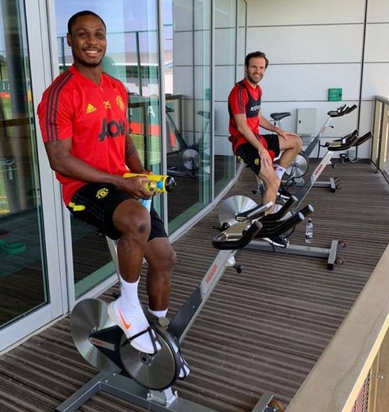 Odion Ighalo Return Training After Premier League Shutdown Due To COVID-19 Pandemic