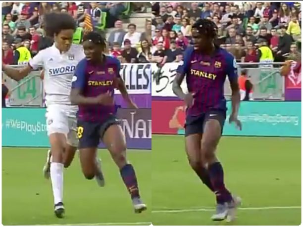 Who get private jet come and carry me from Barcelona to Lagos, I want to go home - Asisat Oshoala