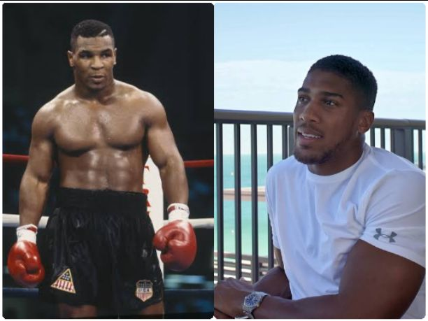 "I would love to see"" Mike Tyson fight again - Anthony Joshua"