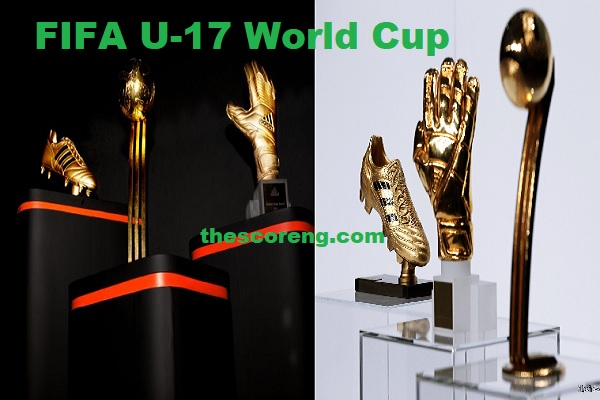 FIFA U-17 Past Winners of Golden Ball and Golden Boot
