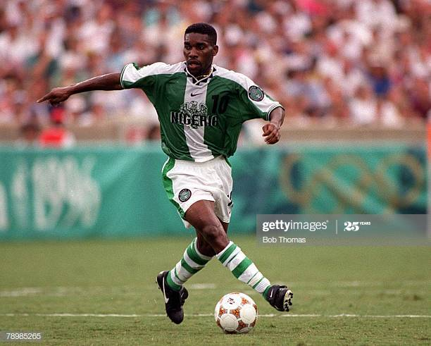 Jay-Jay Okocha Reveals What Daniel Amokachi Told Him After Penalty Missed In Atlanta 96 Against Brazil