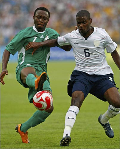 """""""I was a ball boy during the 1999 FIFA U-20 World Cup in Nigeria - Chinedu Obasi"""