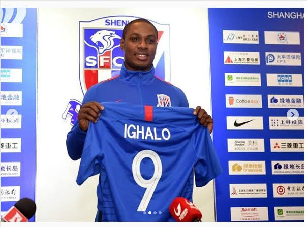 Odion Ighalo Will Return To Shanghai After Man United Failed To Meet Negotiations