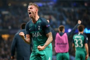 Alderweireld Toby Reveals His Amazing Moments In The Champions League Second Leg Semi-Finals Victory Over Ajax Amsterdam