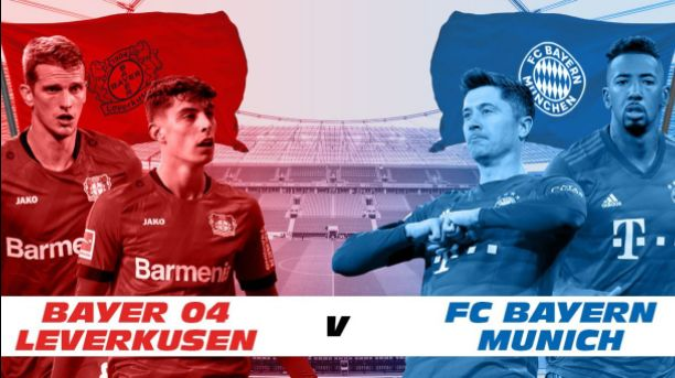 Watch Bayer Leverkusen vs Bayern Munich Live Streaming