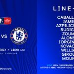 #MUNCHE: Manchester United vs Chelsea Starting XI Lineup