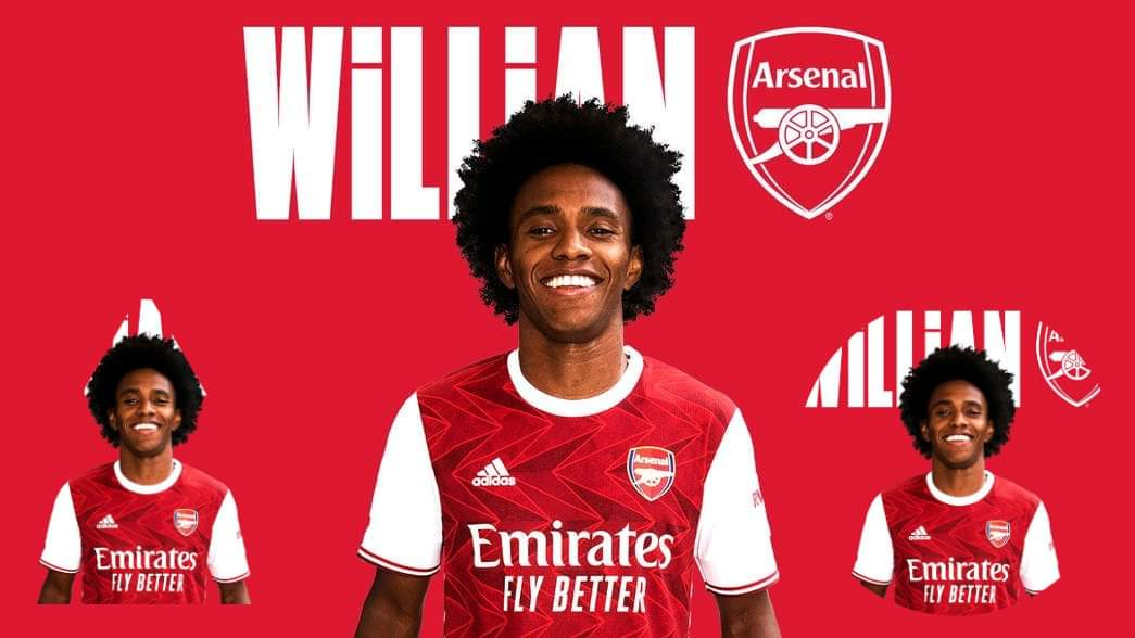 Willian sign 3-year contract with Arsenal, as shirt number reveals
