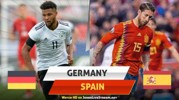 Germany vs Spain Live Streaming