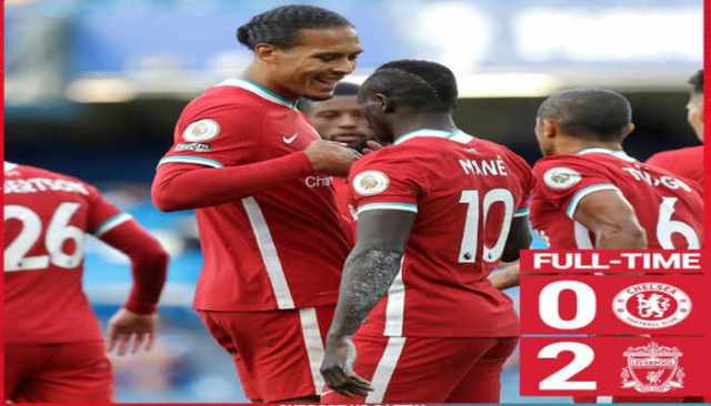 Chelsea 0-2 Liverpool: Mane scores twice, Thiago Alcantara makes first debut for the Reds