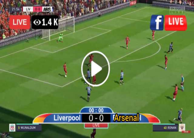 Liverpool vs Arsenal Live Stream, Lineup, Team News, Kick Off Time, TV Channel and The Score