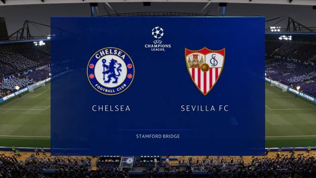 Chelsea lineup vs Sevilla Champions League